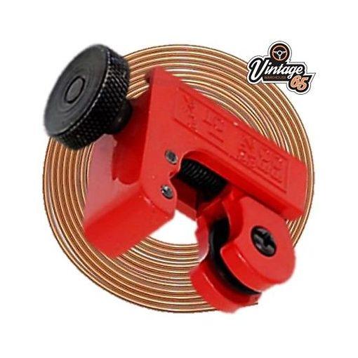 "Mini Hand Held On Car Brake Pipe Line Cutting Tool 3/16"" 1/4"" Copper Kunifer"