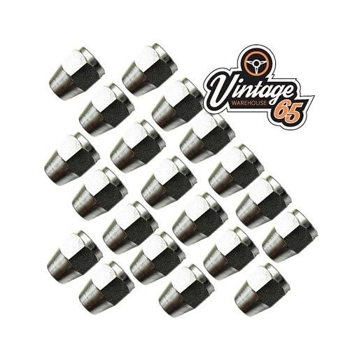 """20 Imperial Brake Pipe Fittings Unions 3/8"""" UNF x 24 Tpi Female Long 3/16"""" Pipe"""
